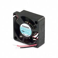 "NEW Sunon 30mm x 10mm Fan 12V DC Bare Leads 5"" Wires KDE1203PFB2-8"