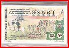 AÑO COMPLETO 1971 LOTERIA NACIONAL DEL SABADO TAUROMAQUIA 40 DECIMOS,