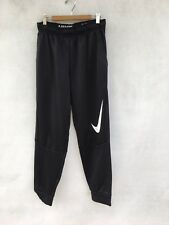 8e36761e2a9a7f Mens Nike Fleece Dri-Fit Therma Training Joggers Sweatpants Black Size S