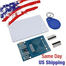RFID Card Reader/Writer Module MFRC-522 RC-522 13.56MHz/125KHz Arduino Kit USA!