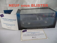 1/43  LINCOLN CONTINENTAL Limousine SS-100.X du PRESIDENT KENNEDY-NEUF