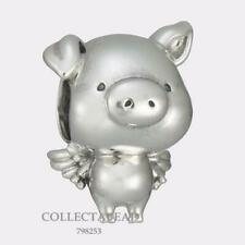 Authentic Pandora Sterling Silver Pippo the Flying Pig Bead 798253