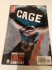 Cage #4 Marvel max Comics August 2002 Azzarello Corber