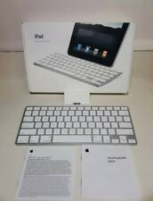 Authentic Apple iPad Keyboard Dock MC533LL/B Model A1359 w/Original Box & Manual