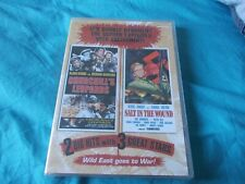 Wild East Churchill's Leopards Salt in the Wound Double Feature DVD NEW SEALED