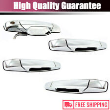 Chrome Outside Rear Front Side RH Door Handle for 2007-2013 Cadillac Escaladeset