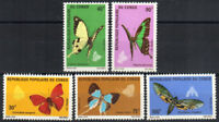 Congo, Peoples Republic Stamp - Butterflies Stamp - NH
