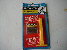 rasoir Schick Super II vintage sous emballage dead stock