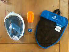 TRIBORD EASY BREATH SNORKELING FACE MASK Size Small / Médium
