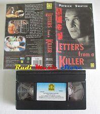 film VHS LETTERS FROM A KILLER Patrick Swayze Medusa Film 1999   (F5*)  no dvd