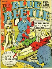 BLUE BEETLE COMICS GOLDEN AGE COLLECTION PDF ON CD