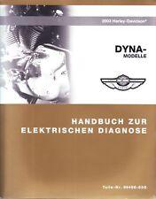 HARLEY Handbuch Diagnose 2003 Dyna Low Rider DEUTSCH