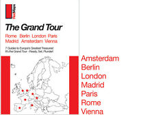 Red Maps Europe Grand Tour Set, CURRENT EDITION - City Travel Guide