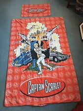 Captain Scarlet Single Bed Duvet Cover And Pillow Case
