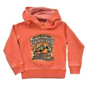 Cowboy Hardware Youth There's Tough, Orange Hoodie 371146-265