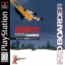 ESPN X GAMES PRO BOARDER PS1 PLAYSTATION 1 DISC ONLY