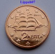 Griekenland / Greece 2 cent 2005 UNC