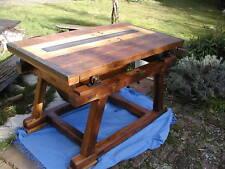 Tisch,Antik,Vintage,Eiche,Massivholz,Kreissäge,Industriedesign,Loft,Esstisch