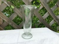 4oz Whitall Tatum Co Conical Graduate Footed Apothecary Druggist Glass Beaker