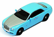Rolls-Royce Ghost Berline de luxe 2010-17 bleu + argent bleu + argent 1:43 Ixo