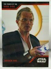Star Wars Superhero TV Series Trading Cards