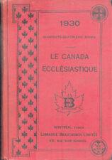 Le Canada Ecclésiastique/Annuaire du Clergé pour l'année 1930