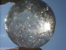 "2.02"" SMOKY QUARTZ SPHERE NATURAL CRYSTAL BALL BRAZIL 51.3 mm"