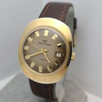 Vintage Waltham CP700 Men's manual winding watch FE 140-1 17Jewels date 1970s