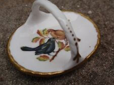 VINTAGE MINIATURE SMALL SPODE CHINA ENGLAND DOLLS HOUSE DISH BASKET