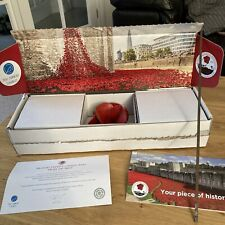 More details for tower of london ceramic poppy by paul cummins, original box .