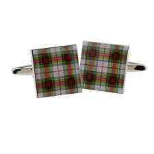 Scottish Stewart Tartan Design Cufflinks X2Bocs144