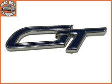 GT Classic Car High Quality Enamel Self Adhesive Badge Decal BLUE