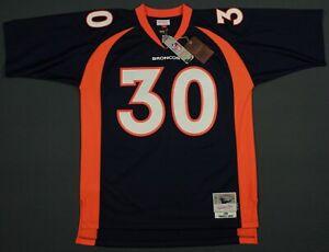 New Terrell Davis Denver Broncos Mitchell Ness 1998 Throwback Legacy Jersey 48