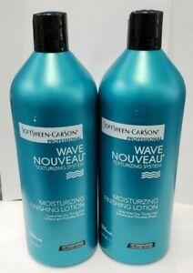 Softsheen Carson Wave Nouveau  Moisturizing Finishing Lotion 33.8 oz (PACK OF 2)