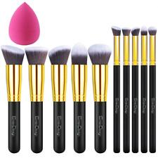 EmaxDesign - Juego de brochas de maquillaje kabuki de fibra sintética para las c