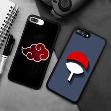 Akatsuki Uchiha Symbol Naruto Silicone Case Cover For iPhone Samsung Galaxy