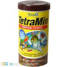 Tetra TetraMin Tropical Flakes Fish Food 7.06 oz FAST FREE USA SHIPPING