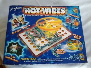 John Adams Hot Wires Plug Play Electronic Experiment Educational Set Unused