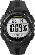 Timex Marathon Men's TW5K94800 Watch with LCD Dial Digital Display and Black Res