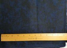 RJR Jinny Beyer Cotton Fabric Black & Dark Blue Mottled 1+ Yards