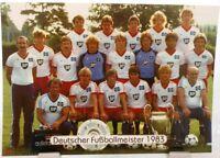 Hamburger SV + Deutscher Fußball Meister 1983 + Fan Big Card Edition F29 +