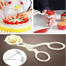 3PCS Piping Flower Scissors+Nail Icing Bake Cake Decor Cupcake Pastry Tools Kit