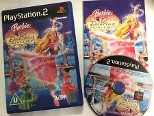 * Sony Playstation 2 Game * BARBIE - 12 DANCING PRINCESSES * PS2