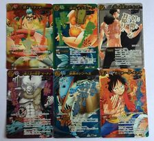 One Piece Miracle Battle Carddass Super Omega Set OP12 6/6