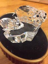 Cristal de Swarovski madre y el bebé Sello en Icerberg