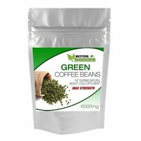 GREEN COFFEE BEAN EXTRACT MAX STRENGTH 6000mg WEIGHT LOSS SLIMMING FAT BURN PILL