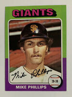 1975 Mike Phillips # 642 Topps Baseball Card San Francisco Giants