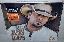 JASON ALDEAN OLD BOOTS NEW DIRT (UK TOUR EDITION) NEW SEALED CD + LIVE DVD