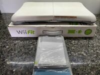 Wii Fit Balance Board Nintendo Exercise Fitness Controller Tested Like NIB
