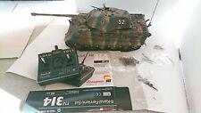 Modellbau Panzer Tiger IV Tiger 2 Maßstab 1:16 Dachbodenfund Funkfernbedienung